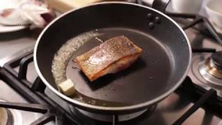 How to pan fry trout fillets