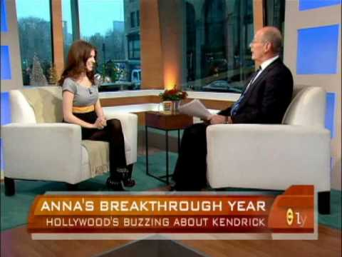 Anna Kendrick on the early show