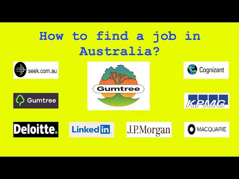 How To Find A Job In Australia?