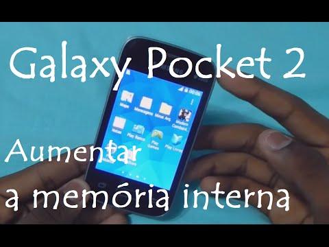 Galaxy Pocket 2 / Como aumentar a memória interna   SM-G110B
