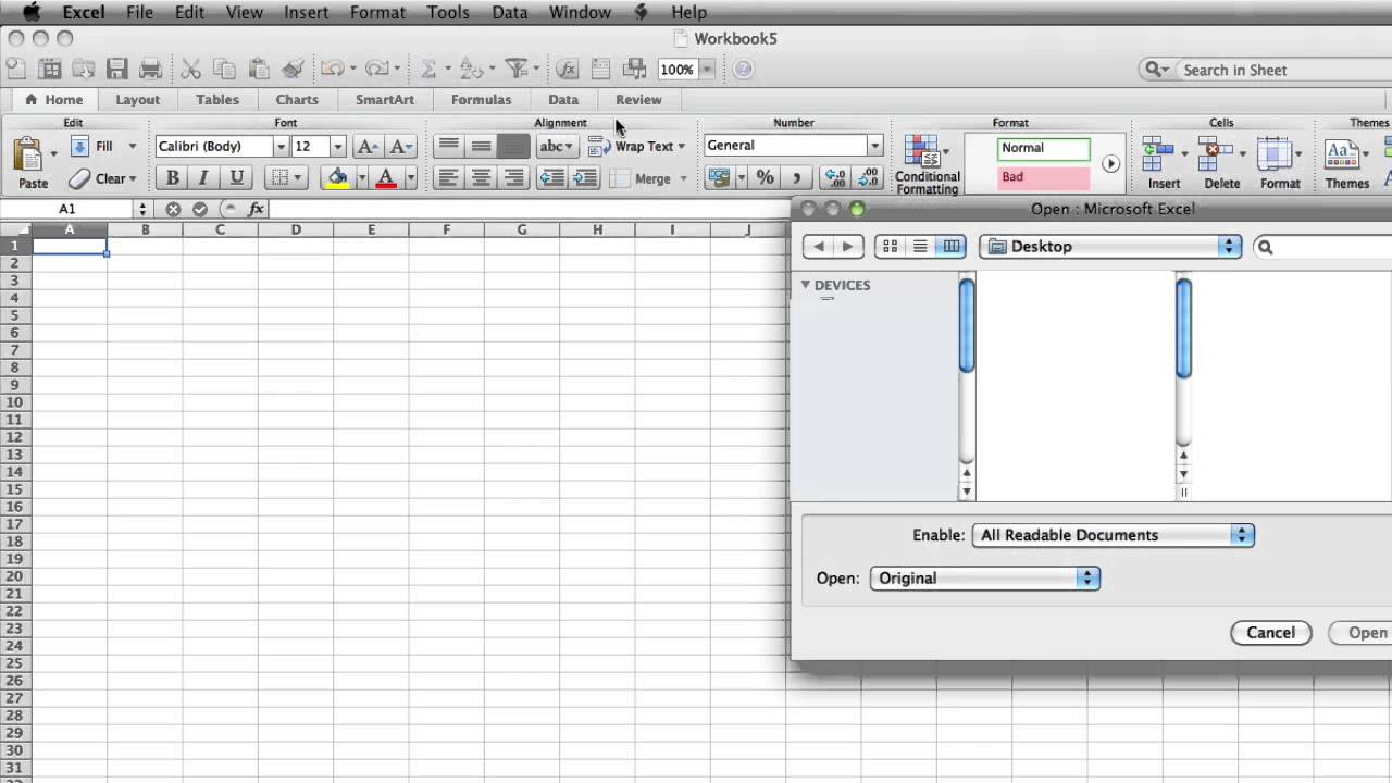 How to Open XML File in Excel