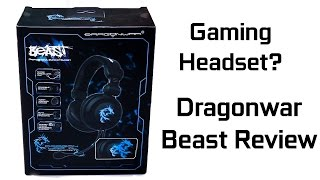 Headset Gaming DragonWar Beast Review Indonesia