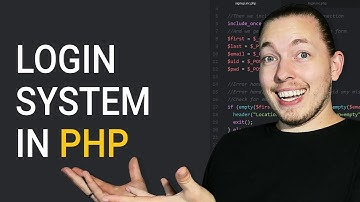 How To Create A Login System In PHP For Beginners   Procedural MySQLi   PHP Tutorial