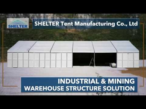 SHELTER Industrial/Commercial/Mining/Logistics Warehouse Storage Tent Collection