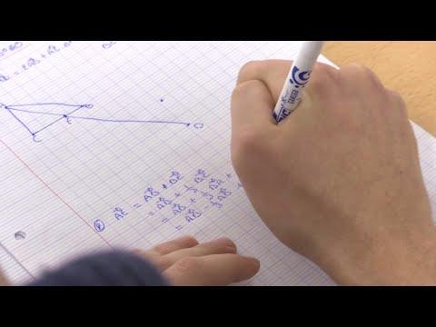 Les mathématiques, la bête noire de nombreux élèves français