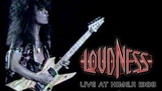 Loudness, Live in Himeji, Japan 1988 Vocal - Minoru Niihara-san Gui...