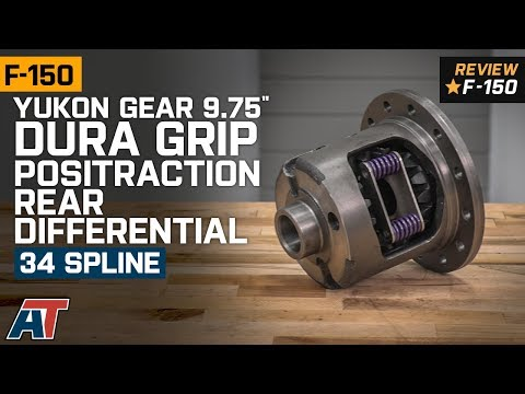 "1997-2019 F150 Yukon Gear 9.75"" Dura Grip 34 Spline Positraction Rear Differential Review"