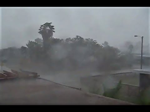 08/25 Hurricane Harvey Port Aransas Texas Its Getting Scary