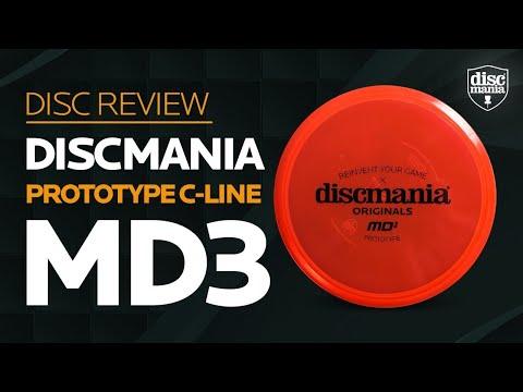 Discmania Originals MD3 Golf Disc Review