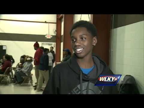 Eighth-grader shot 3 weeks ago returns to school, speaks out on violence