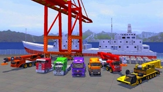 Cargo Ship Manual Crane 3 - Best Android Gameplay HD