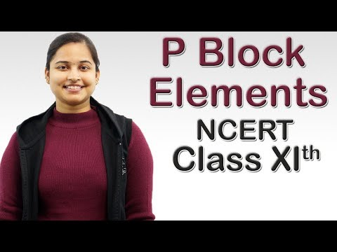 P Block Elements - Inert Pair Effect, Class 11 CBSE Chemistry