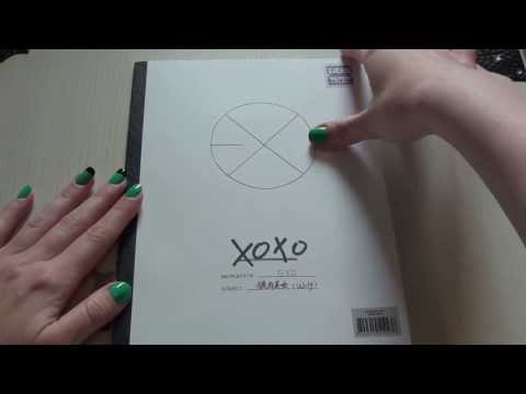 [Album Unboxing] EXO - XOXO Wolf (Hug Version)