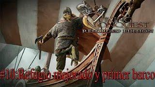 Mount and Blade Viking Conquest #10: Refugio mejorado y primer barco