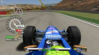 Grand Prix 4 - Felipe Massa - MotorLand Aragon - 2004 - Onboard lap