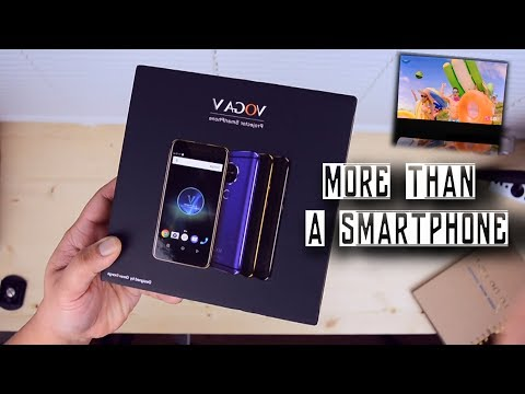 Cool Laser Projector Smartphone - A Samsung Galaxy BEAM Copy VOGA V