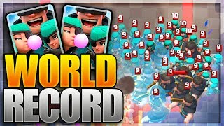 48 RASCALS! Clash Royale NEW WORLD RECORD! Most Rascals in One Match Gameplay!