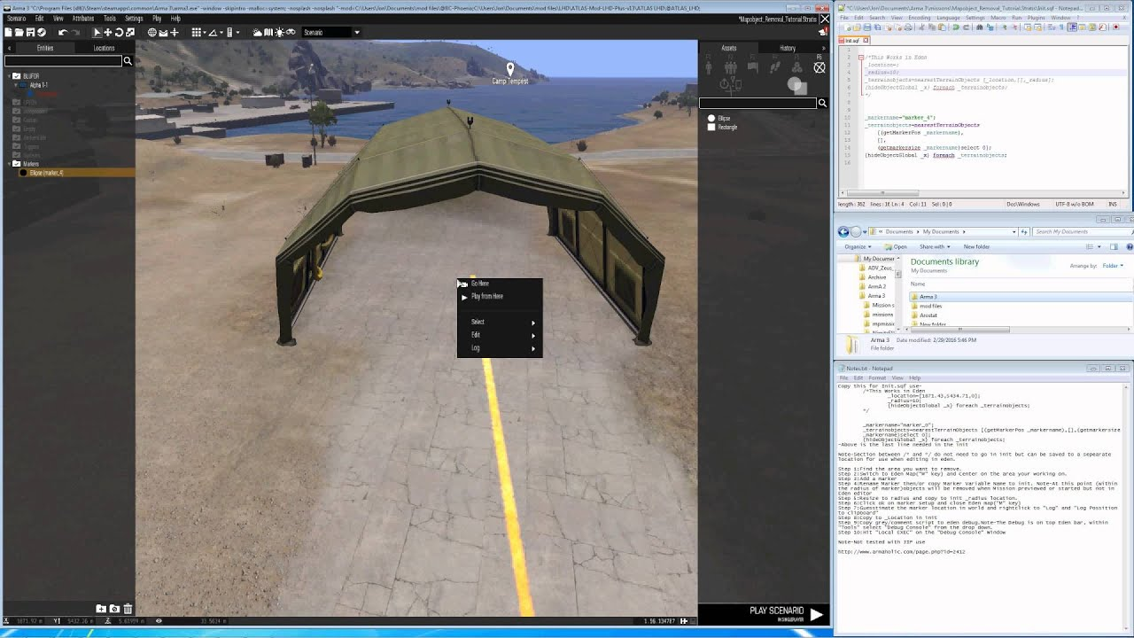 Arma 3 eden editor remove map objects youtube gumiabroncs Choice Image
