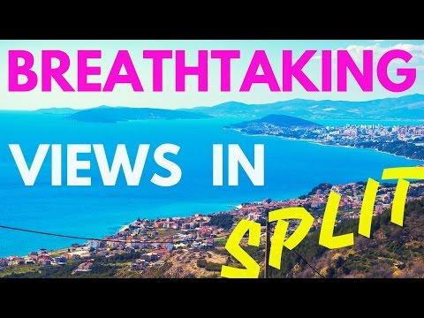 Amazing Views in Split Croatia, 2017