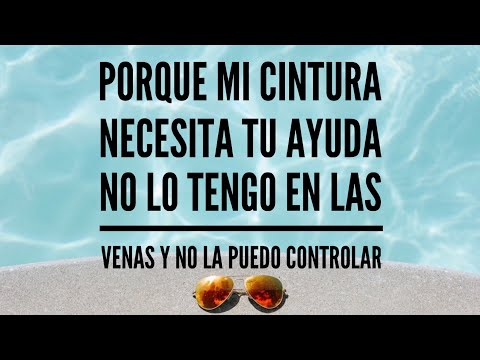 La Cintura - Alvaro Soler [REMIX] Feat Flo Rida, TINI (lyric Video - Letra - Testo)