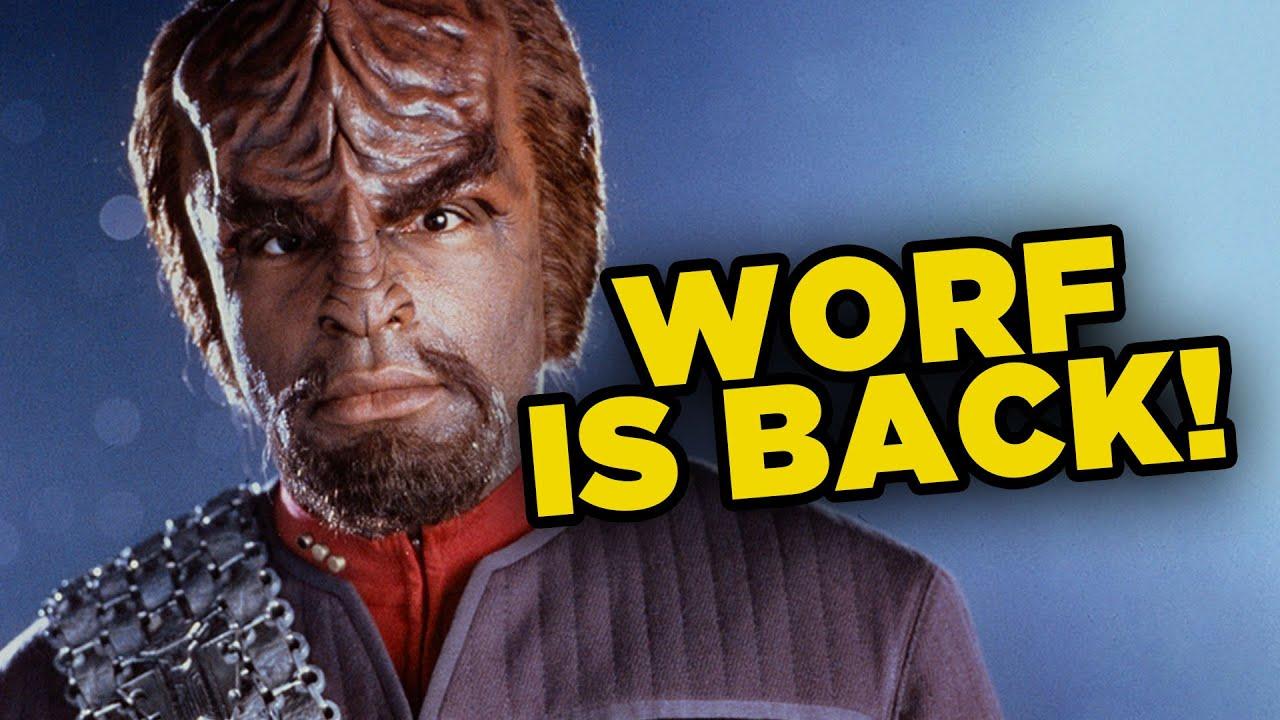 Download Michael Dorn Confirms Worf's Return To Star Trek!