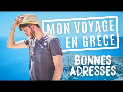 Mon voyage en Grèce : mes adresses, bons plans + best of Snapchat 😎