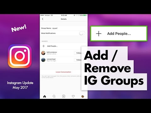 How to delete someone from your instagram group chat