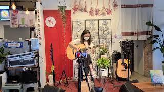 기타리스트김지희 대구 라이브통기타카페 꽃담 에서 즉석공…