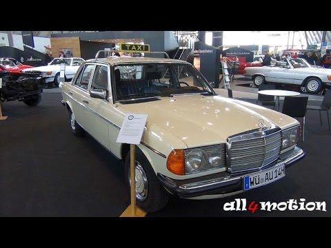 1977 mercedes w123 220d taxi beige retro classics 2016. Black Bedroom Furniture Sets. Home Design Ideas