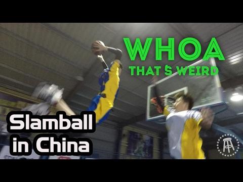 SLAMBALL TOURNAMENT IN CHINA | Whoa! That
