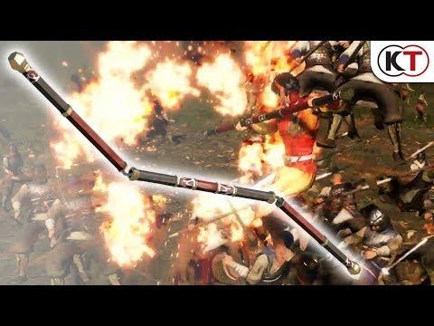 『真・三國無双8』DLC武器「三結棍(さんけつこん)」アクション動画