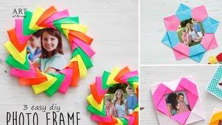 3 Easy DIY Photo Frame
