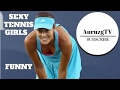 HD Funny and Sexy Tennis Girls Compilation (Ivanovic,Wozniacki,Williams,Cibulkova,Sh