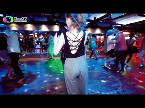 Ivan Ortega & 팅커벨 Bachata social dancing  @ 2019년 살차타 한여름밤의 꿈 부산살사,부산바차타
