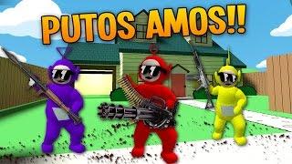 LOS TELETUBBIES ASESINOS Y FUMETAS | BUGGAZO DEL SIGLO | Death Run GARRY'S MOD  | TheCorvusClan