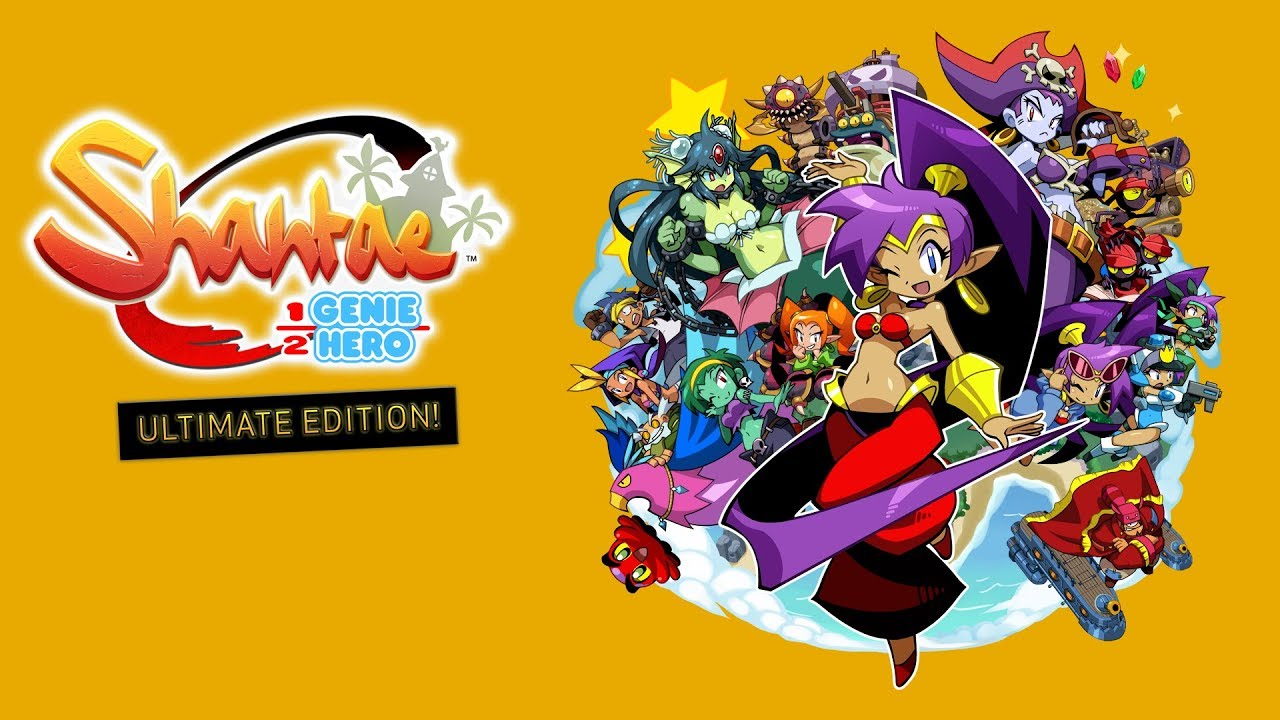 Image result for shantae half-genie hero ultimate edition