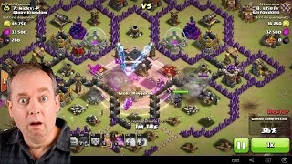 Clash Of Clans - TOP WAR ATTACKS / 3 stelle a villo 9 maxato / 3 starring maxed th9