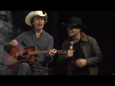 Elon and Kimbal Musk singing \
