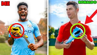 I Tested VIRAL Footballer Life Hacks & THEY WORKED! (Ronaldo & Mbappe Do this!)