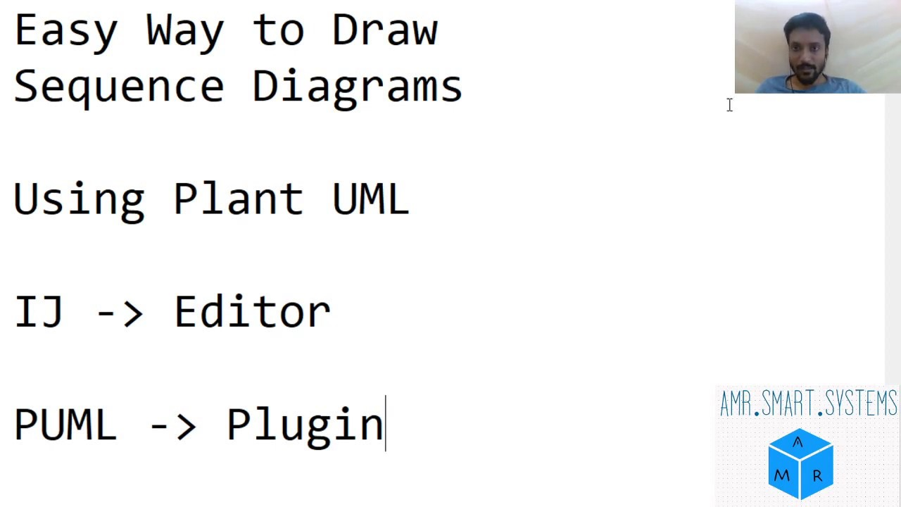 PlantUML Sequence Diagrams in IntelliJ Editor - YouTube