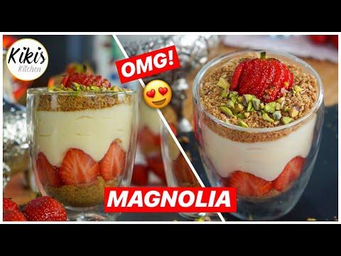 magnolia-dessert-mit-erdbeeren---schnelles-rezept-/-erdbeertraum-im-glas-/-nachtisch
