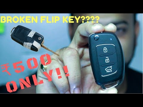 Fix Car Flip Key For ₹500 Only!! Hyundai I20  Elantra  Verna  Key Fob