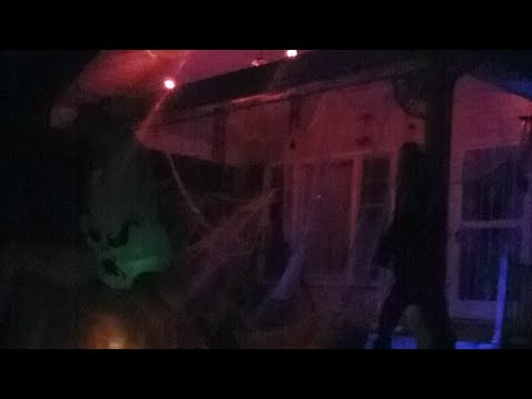 Yard Of Terror  In Independence MO pt2