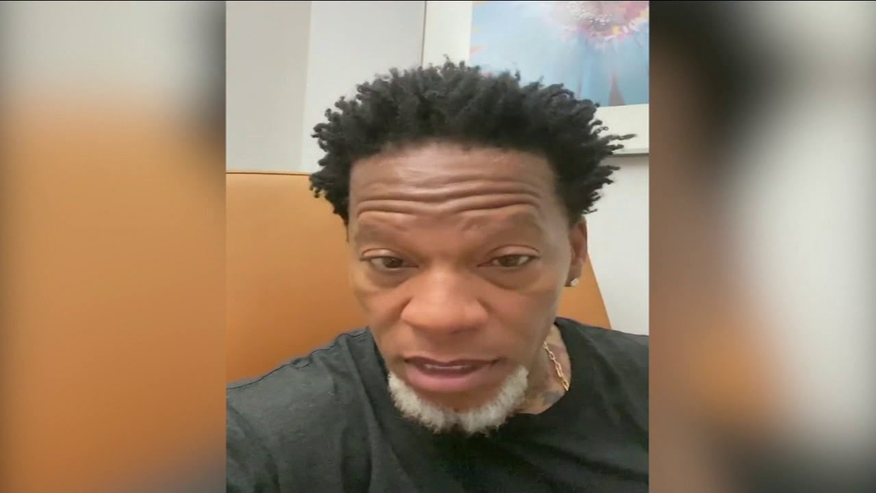 Comedian DL Hughley tests positive for coronavirus after collapsing ...
