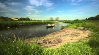 Markus Möller unterwegs in der Pommerschen Flusslandschaft