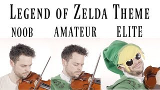 4 Levels of Zelda Music: Noob to Elite