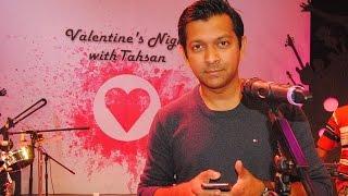 valentines night with tahsan rtv