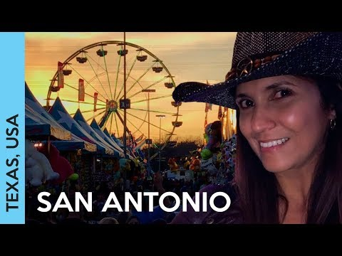 ALAMO, River Walk and RODEO in San Antonio, TEXAS! | Travel vlog 2017