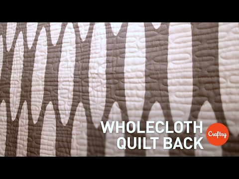 Seam-Matching Prints for Wholecloth Quilt Backing | Quilting Tutorial with Elizabeth Hartman