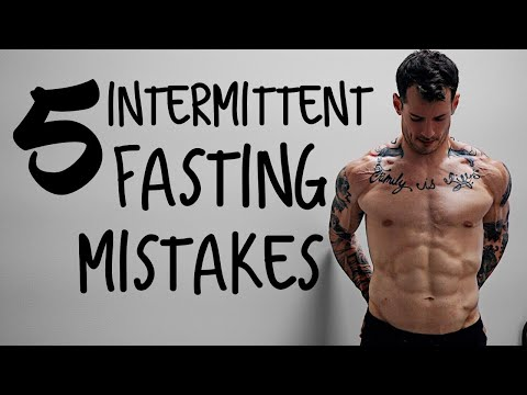 TOP 5 INTERMITTENT FASTING QUESTIONS AND MISTAKES YOURE PROBABLY MAKING CURRAN BLEVINS